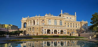Operateater i Odessa Ukraina Arkivbilder