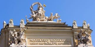 Operatheater in Odessa, de Oekraïne Royalty-vrije Stock Fotografie