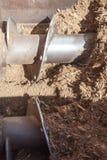 Operating машинного оборудования компоста Стоковые Изображения