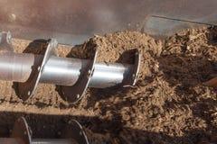 Operating машинного оборудования компоста Стоковое Фото