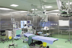 The operating room. Operating room waiting for the patient Royalty Free Stock Photos