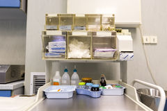 Operating Room Equipment Royalty Free Stock Image