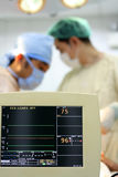 Operating room monitoring device Stock Photo
