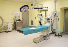 Operating room in public hospital Stock Photos