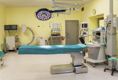 Operating room in public hospital Stock Photo