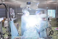 Operating room during surgery Stock Photography