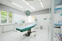 Operating room in the surgical department of the polyclinic Stock Photos