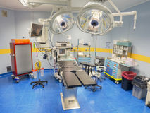 Operating room view from above Stock Photo
