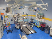 Operating room view from above Stock Photography