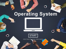 Operating System Access Connection Interface Concept Royalty Free Stock Photography