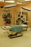 Operating table. In modern obstetrics ward Stock Images