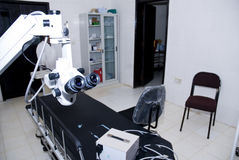 The operating theatre at the Nekemte Eye Clinic. Royalty Free Stock Images