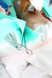 Operation in der chirurgischen Abteilung Stockfoto