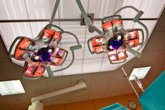 Operation Room Lights Stock Image