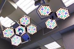 Operationsraum-Lichter Stockfotos