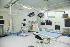 Operationsraum mit chirurgischer Ausrüstung, Krankenhaus, Peking, China Lizenzfreie Stockfotos
