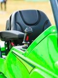 Operativsystem på den stora industriella jordbruks- maskinen Royaltyfri Bild