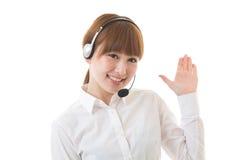 Operator Stock Photo