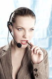 Operator Royalty Free Stock Photo