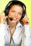 Operator. Royalty Free Stock Photography