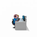 Operator bisness call center team Royalty Free Stock Photos