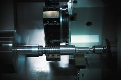 Universal grining machine Stock Photography