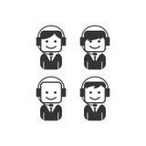 Operator guy avatar portrait picture icon Stock Photos