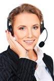 Operator help Stock Image