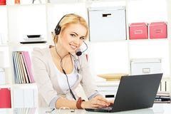 Operator help Royalty Free Stock Images