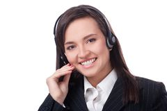 Operator Of Call Center Royalty Free Stock Image