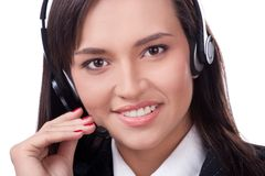 Operator Of Call Center Stock Photography