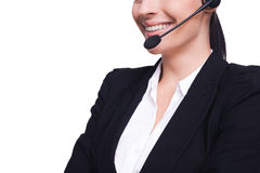 Operator online. Royalty Free Stock Photo