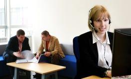 Operator at work Stock Photos