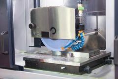 Operatora śrutowania powierzchnia foremki i kostka do gry części Obraz Royalty Free