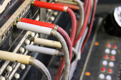 operatora antykwarski switchboard Obraz Stock