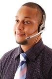 operatora biznesowy poparcie obrazy stock
