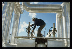 Operatora Południowego Kalifornia Edison energii słonecznej roślina Zdjęcie Royalty Free