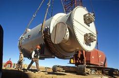 Operatore California del sud Edison Solar Power Plant Fotografia Stock Libera da Diritti