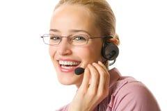 Operatore del servizio clienti Immagini Stock