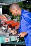 Operatore del torchio tipografico Fotografia Stock Libera da Diritti