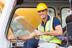 Operatore dell'escavatore Fotografia Stock Libera da Diritti