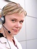Operatore della call center fotografia stock libera da diritti