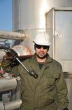 Operatore di gas Immagini Stock