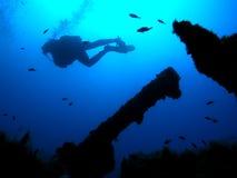 Operatore subacqueo immagine stock libera da diritti
