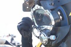Operatore subacqueo commerciale fotografia stock libera da diritti