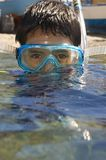 Operatore subacqueo del bambino fotografie stock