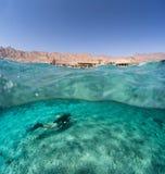 Operatore subacqueo subacqueo fotografie stock libere da diritti