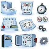 Operatoren - elektrische Kontrollen vektor abbildung
