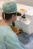 Operazione del laser di Opthtalmology Fotografia Stock