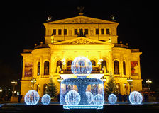 Operazione di Alte, Francoforte sul Meno Fotografia Stock Libera da Diritti